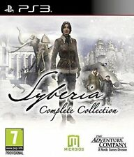 BRAND Syberia Complete Collection PlayStation Ps3 Game