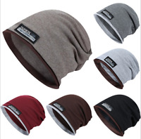 Unisex Fashion Hat Cotton Baggy Beanie Oversize Winter Hat Ski Slouchy Chic Cap