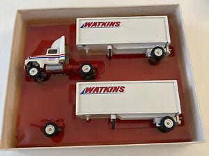 Watkins Motor Lines Doubles Winross 1/64th Scale Tractor Trailer Model