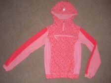 Girls Sz 10 Ivivva by Lululemon Half Zip Pullover Pack Stash Hoodie Jacket Hood