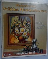Guide for beautiful handicrafts Catalogue Junghans-Wool 1981/82