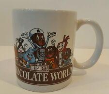 Hershey Chocolate World Ceramic Coffee Mug Cup Great Gift for Candy Lovers EUC