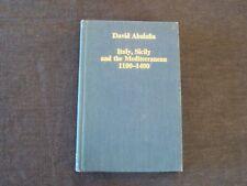 book - Italy, Sicily and the Mediterranean, 1100-1400 by David Abulafia, c 1987