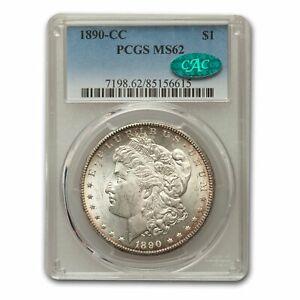 1890-CC Morgan Dollar MS-62 PCGS CAC - SKU#159247