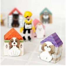 FD927 Funny Puppy House Dog Sticker Bookmark Mark Memo Sticky Note ~1pc`