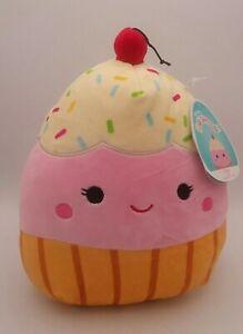 "Squishmallows Clara Cupcake Food Squad 8"" Plush NEW NWT Squishmallow"