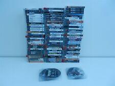 Lot of 132 PS3 Playstation 3 Games - Uncharted 2, Modern Warfare 2, NBA 2K14