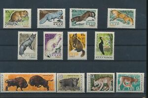 LN30463 Russia animals fauna flora wildlife fine lot MNH