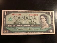 1967 CANADIAN 1 DOLLAR BILL CRISP AND CLEAN