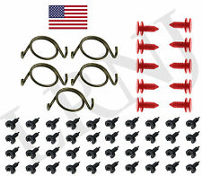 LAND ROVER DISCOVERY 1 1989-1998 DOOR LOCK LATCH REPAIR SPRINGS AND CLIPS SET