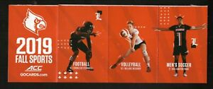 Louisville Cardinals--2019 Strip of Six Football/Fall Sports Schedules-Bud Light