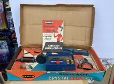 Remco Crystal Radio Kit For Beginners Complete Condition Circa 1965