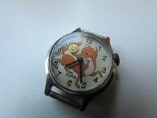 Vintage Kids Child Watch ZRJA FOX & KOLOBOK , SOVIET/USSR, RUSSIA #0846