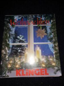 KLINGEL Weihnachten Katalog gültig bis Januar 2001 guter Zustand Sammelauflösung