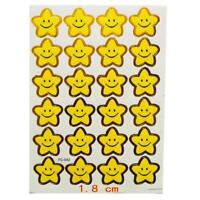 10 Sheets kids Smile Star Stickers for School Teachers Parents Reward Praise