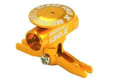 Microheli Blade 130x Precision CNC Aluminum Main Rotor Hub w/ Button(GOLD) 130 X