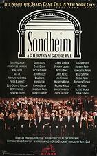 "SONDHEIM-A CELEBRATION AT CARNEGIE HALL WINDOW CARD 1993 22"" X 14"""