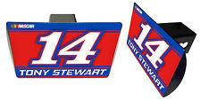 NASCAR #14 TONY STEWART Metal Trailer Hitch Cover-NASCAR Hitch Cover