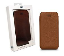 Genuine Sena UltraSlim Leather Sleeve Case Cover Pouch For iPhone XR Tan - NEW