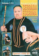 3 DVD Box Mastering Serrada Escrima Vol.1-3 By Darren Tibon - Kali Arnis Eskrima