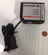Datalogic * Laser Barcode Scanner Damaged * Ds2100-1110