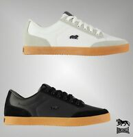 Mens Lonsdale Stylish Leather Lace Croxley Trainers Footwear Size 7-11