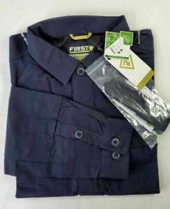 NWT First Tactical Men M NAVY Tactix BDU Shirt LONG Sleeve Shirt Medium New