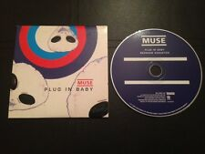 MUSE PLUG IN BABY PIAS/BENELUX CARD SLEEVE  *EXCELLENT* CONDITION VERY RARE!