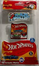 HOT WHEELS 2017 WORLD'S SMALLEST REAL MINI DIECAST GREEN TWIN MILL #516