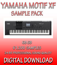 YAMAHA MOTIF XF SAMPLES IN WAV FORMAT - 61,200 SAMPLES, 62GB  **DOWNLOAD**