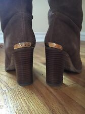 Michael Kors Brown Suede Boots Size 8