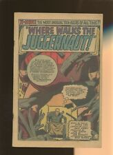 X-Men 13 Coverless * 1 Book * Where Walks the Juggernaut! Marvel,Lee,Kirby!