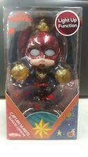 Hot Toys Cosbaby Captain Marvel (Masked) Light Up Figure *US Seller*