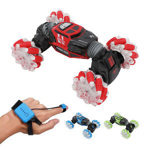 Rotary remote control cross country gesture sensing RC Stunt Car Toy flip