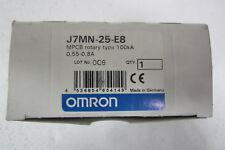 OMRON J7MN-25-E8 INTERRUTTORE AUTOM. PROTEZIONE MOTORE (SALVAMOTORE) 0,55-0,8A