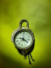 Omega rare vintage magnified glass ba ball watch pendant running