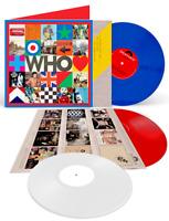 The Who - Who Limited LP 1 Blue Vinyl LP 2 White Vinyl LP 3 Red Vinyl LP NEU