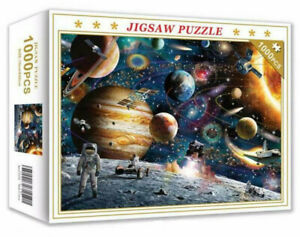 1000 Pieces Space Traveler Jigsaw Puzzle Educational Family Adult Kids DIY Toy