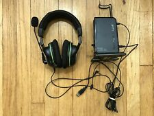 Turtle Beach Ear Force XP500 Wireless Headset/Transmitter/Cables PS3 Xbox 360