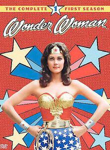 WONDER WOMAN:  The Complete First Season (DVD, 2004, 3-Disc Set) Lynda Carter
