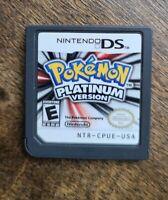 Pokemon Platinum Version (Nintendo DS) -- Authentic game -- Tested, Works. OEM