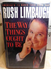 The Way Things Ought to Be by Rush H., III Limbaugh (1992, Hardcover)