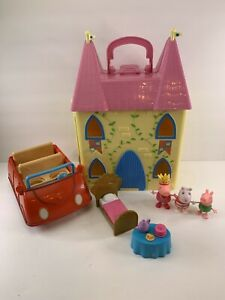 Peppa Pig Princess Castle with Figures, Accessories and Car Playset House