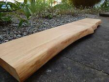 Wandboard Board Regal Wandregal Wild Eiche Massivholz Mit Baumkante NEU