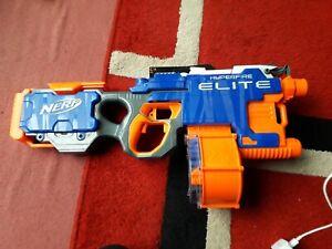 NERF N-STRIKE HYPERFIRE ELITE MOTORISED BLASTER GUN
