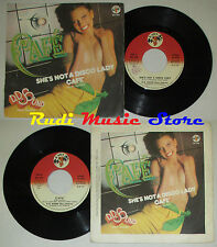 LP 45 7'' D D SOUND DISCO DELIVERY Cafe She's not a disco lady 1978 cd mc dvd*