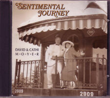 DAVID CATHI MOYER Sentimental Journey CD Classic 60s DANNY BOY HAPPY DAYS HERE