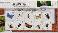 GB 2008 ACTION for SPECIES INSECTS PRESENTATION PACK No.412