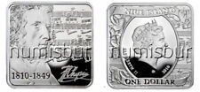 NIUE ISLANDS:1 Dollar silver 2010 Chopin PROOF