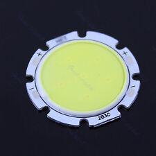 3W Pure White Round COB Super Bright LED SMD Chip ampoule de lampe de 6000-6500K